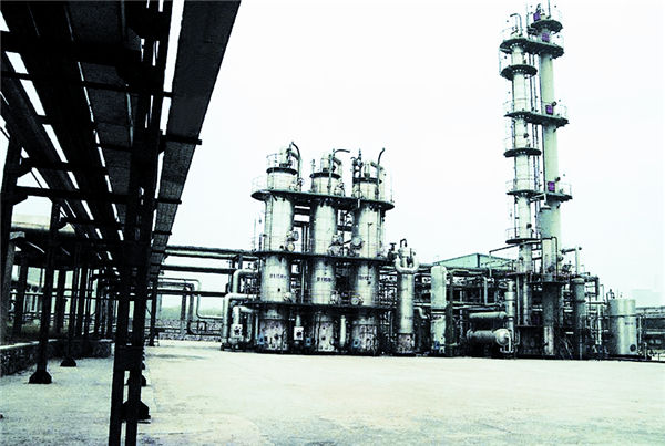 8万立方米年原料干气装置中国石化金陵石油化工有限公司