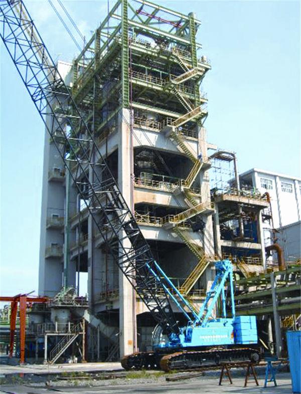 南化公司新增AB煤气化装置