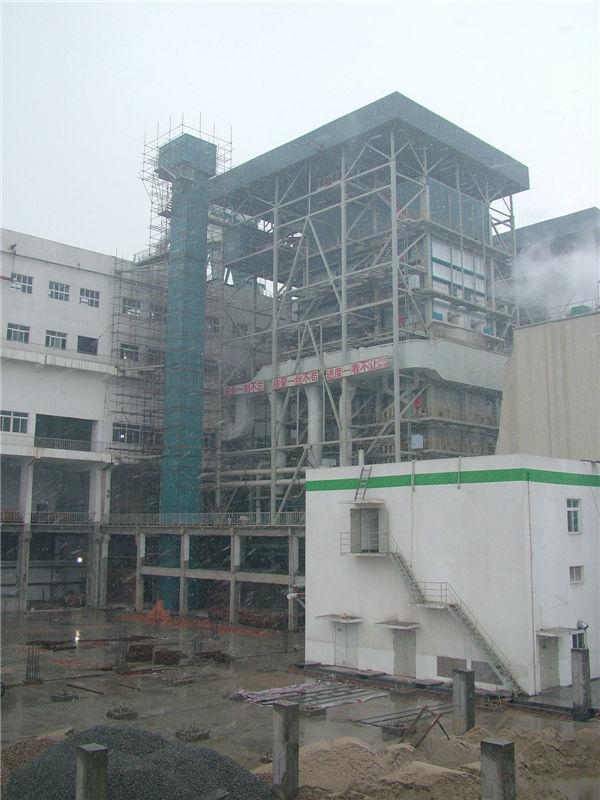 2X260吨时燃烧锅炉,35千瓦汽轮机组安装工程 无锡协联热电公司