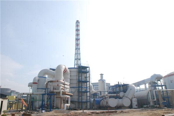 云南云天化80万吨年硫酸及HRS低温余热回收装置