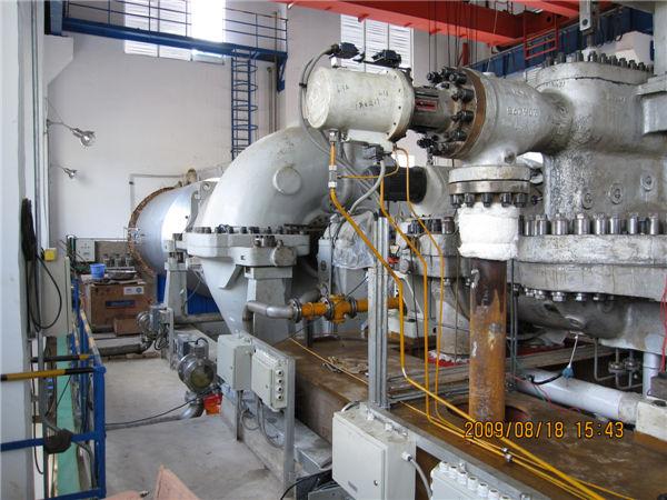 全国第一套国产化透平驱动高速风机 云南云天化80万吨年硫磺制酸装置