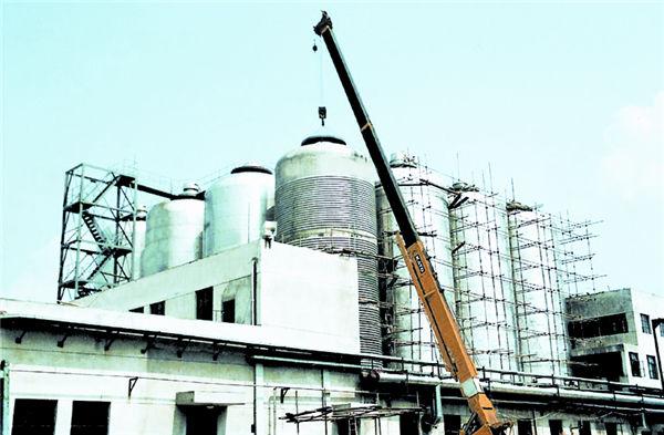 20万吨年啤酒工程 福建莆田啤酒厂