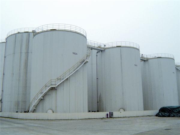 3万立方米食品油贮罐区安装工程 东海粮油工业(张家港)有限公司