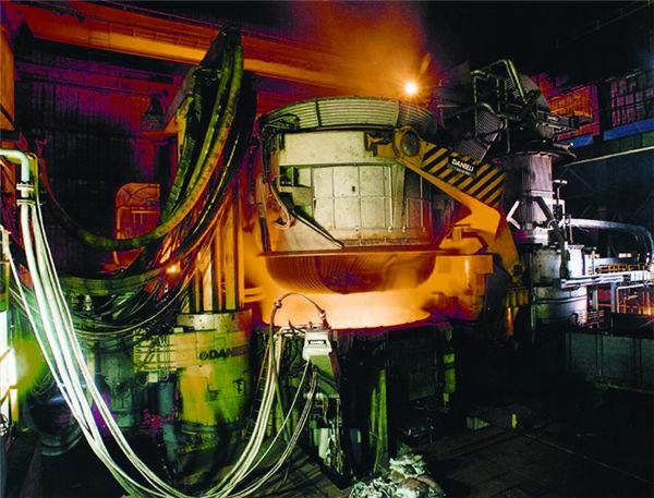 100吨电炉制作安装 南京钢铁集团有限公司