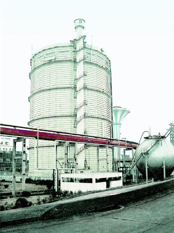 5万立方米 干式煤气柜工程 张家港沙钢集团