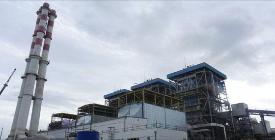 3X260th循环硫化床锅炉-DMSA合资公司(马达加斯加)