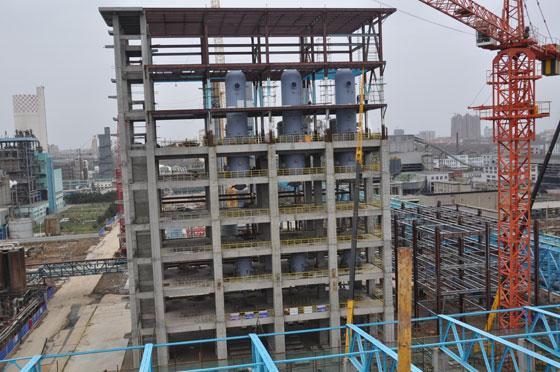 中国石化南化大合成氨气化炉框架