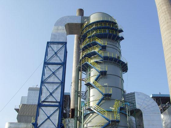 南化公司1#、2# 220t/h动力锅炉烟气脱硫项目