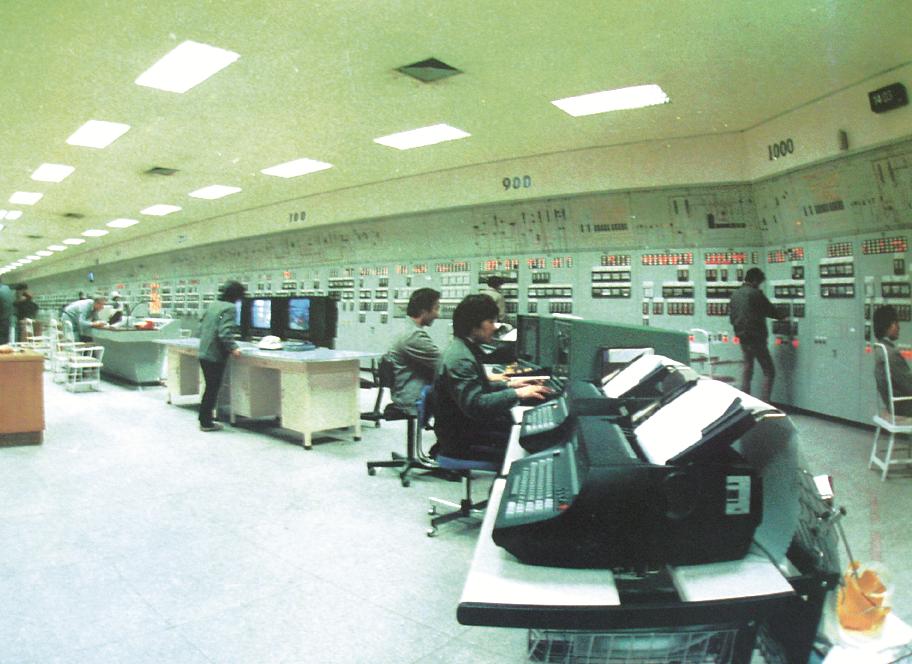 扬子芳烃装置主控制室