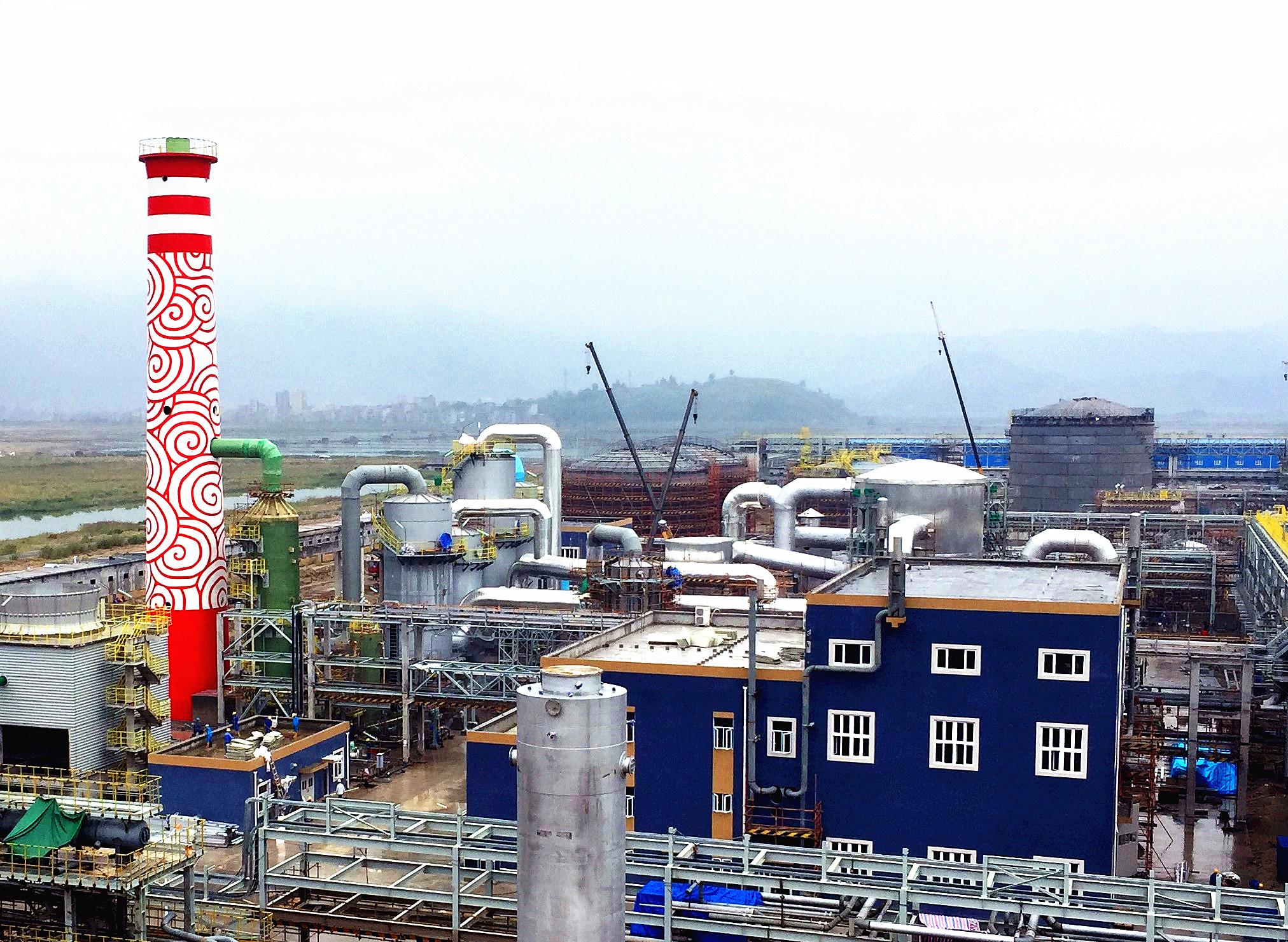 50万吨年发烟硫酸项目    福建申远新材料有限公司