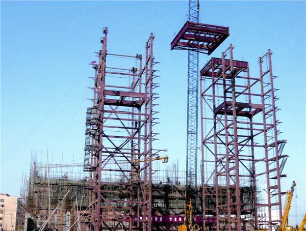 Hubei Chuyuan 2x140t/h Recycling Boiler and 25MW Gas Turbine Generator Installation
