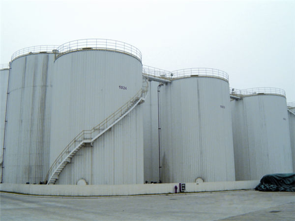 30000m³ Food Oil Tank Erection  Donghai Food and Oil Industry (Zhangjiagang) Co., Ltd.