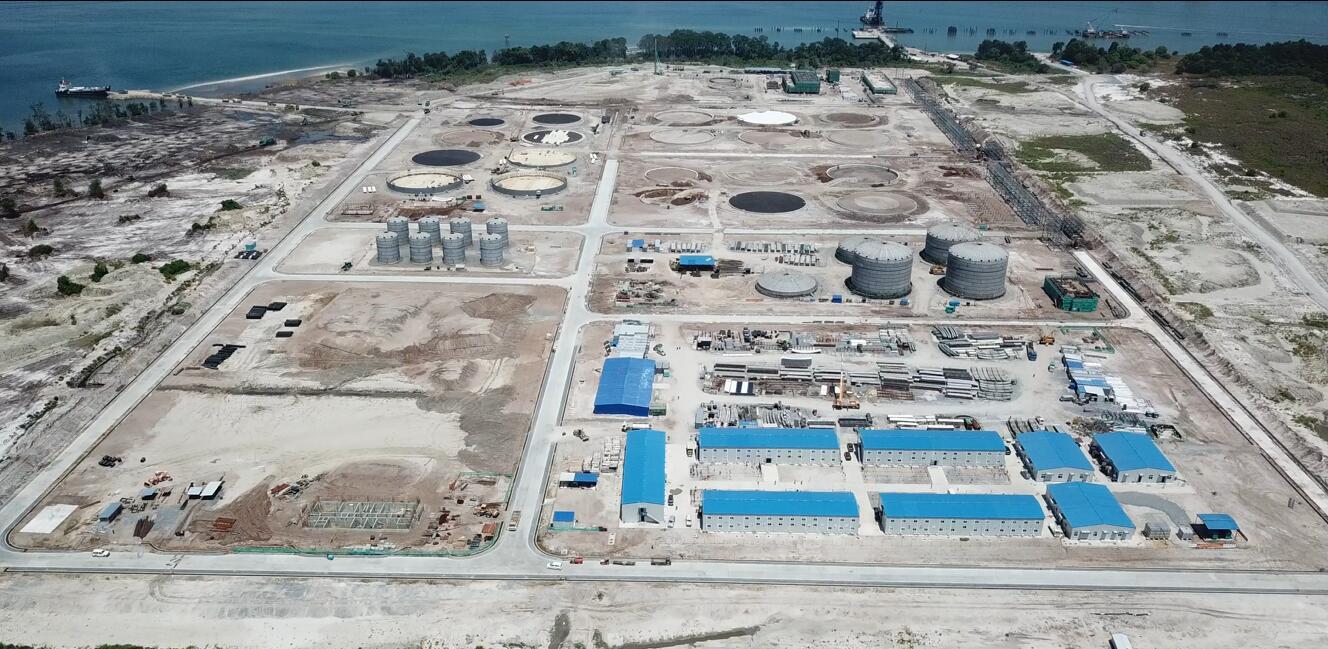 恒逸(文莱)PMB石油化工项目西部罐区施工总承包工程