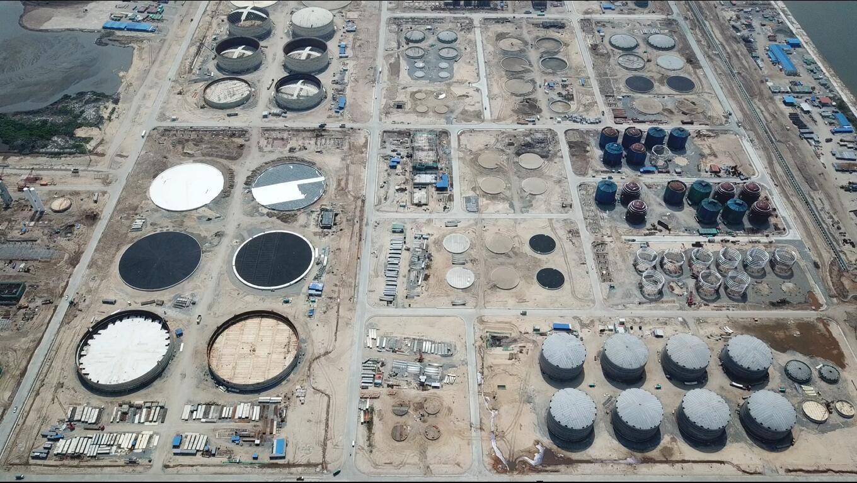 恒逸(文莱)PMB石油化工项目东部罐区施工总承包工程