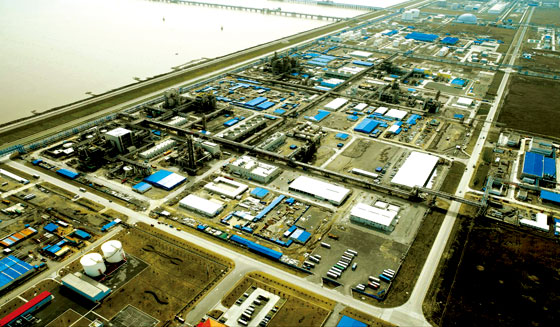 Shanghai Integrated Isocyanate Plant