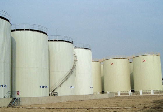 1200KCM Edible Oil Storage Tank Farm Installation Project Yizheng Yijiang Grain and Oil Industry Co.