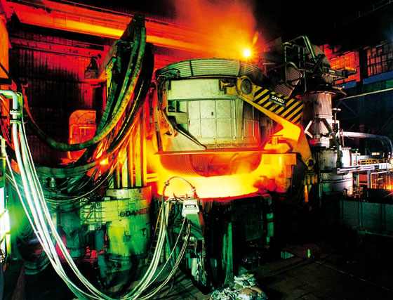 100t Electrical Furnace Fabrication and Installation - Nanjing Iron and Steel Corporate