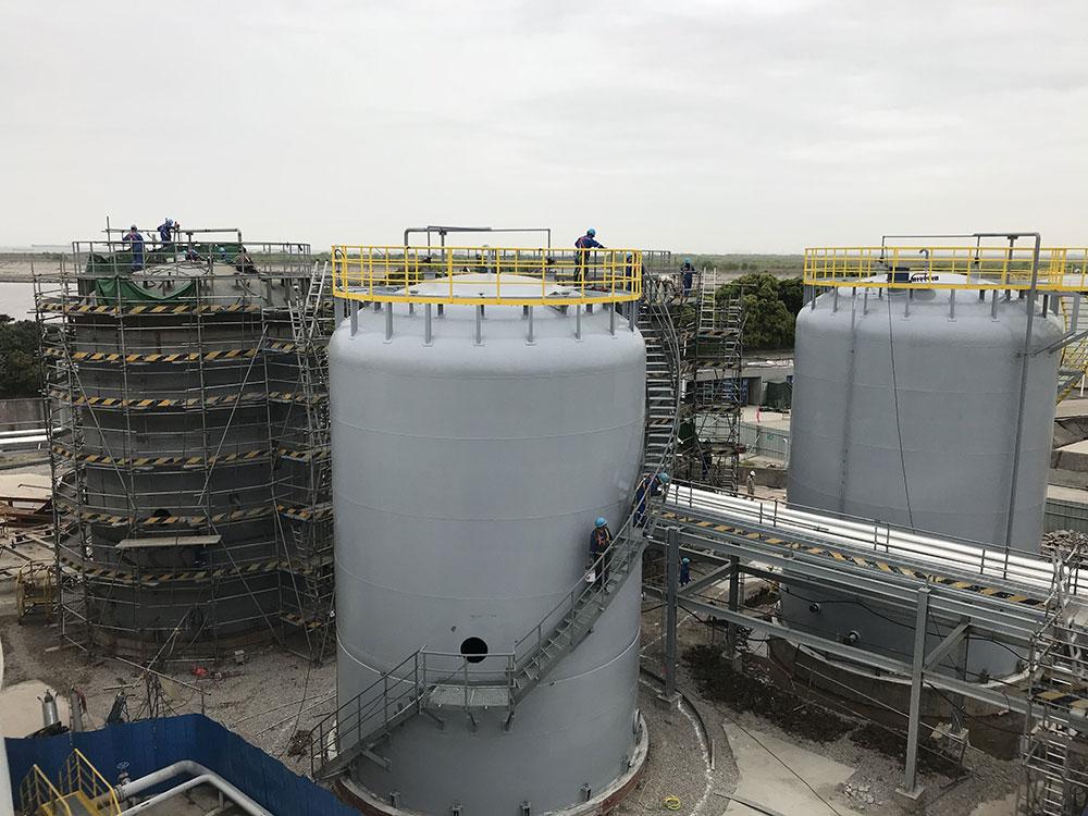 埃克森美孚TCMB项目已完成F1534和1536储罐